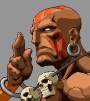 Character Select- Dhalsim by UdonCrew