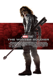 Marvel's The Winter Soldier movie poster by ArkhamNatic