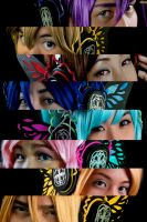Vocaloids in Magnet by yuUkichama