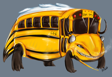 Dragon Your Kids onto the Bus by Susiron