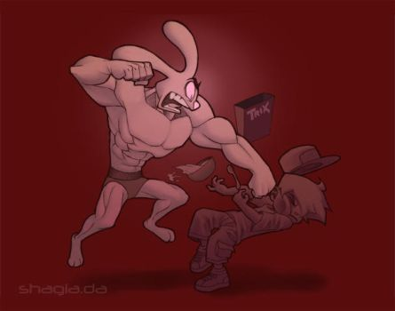061121 Silly Rabbit by 0meter