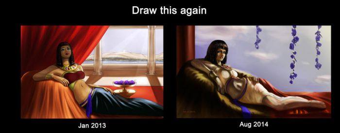 Draw This Again - Cleopatra by Rocklaw