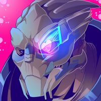 Garrus Heart (COMMISSION) by squarerootofdestiny