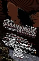 Urban jungle tactics poster by penpointred