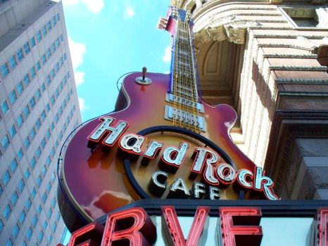 Hard Rock Cafe Philadelphia by ElizabethCapps