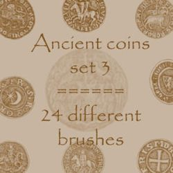 Ancient Coins 3 by rL-Brushes