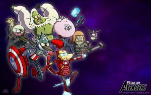 Regular Avengers by Dustin-C