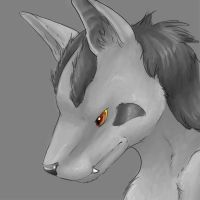 Sketch - Mightyena by Endivinity