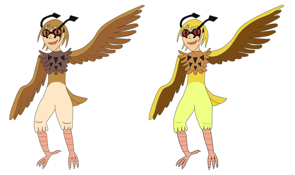 HootHoot Harpies by MetalShadowOverlord