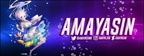 New Twitch Stream Banner by AmayaSin