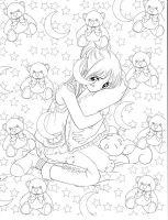 Manga Coloring Book by Christopher-Hart