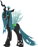 Queen Chrysalis We Do Feed On Love by Jeatz-Axl