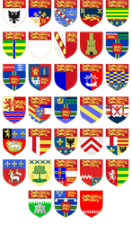 Shields of Normand Regions by DimLordofFox