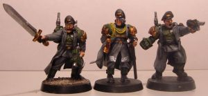 Imperial Guard Officers by ncodb