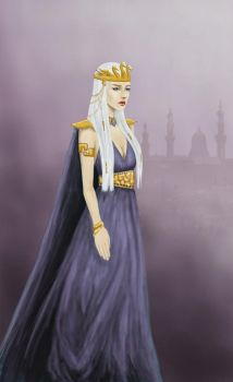 Queen of Meereen by denkata5698