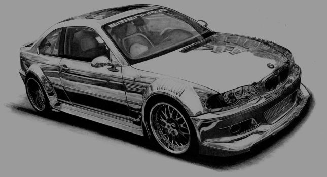Bmw M3 E46 by AdamWien