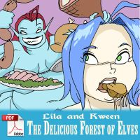 The Delicious Forest of Elves by x-22