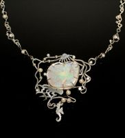 Australian Opal Necklace by nataliakhon
