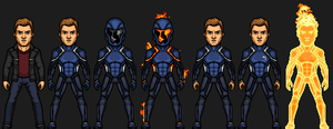 Human Torch (Marvel Cinematic Universe) by josediogo3333