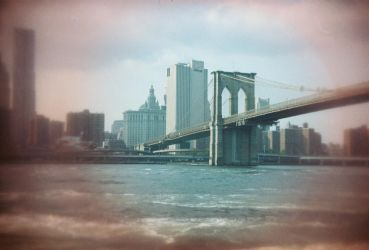 Brooklyn in Color: Red Eyes, I by neuroplasticcreative
