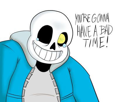 You're gonna have a bad time by RichFox