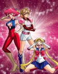 Magical Girl Team?! Great Race to Make the Scene! by Kurumi-Lover