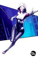 Spider Gwen by titi-artwork