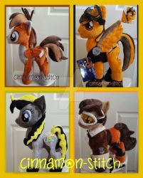 mlp plushie commissions September OPEN by CINNAMON-STITCH