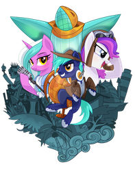 Bronycon 2016 T Shirt Design by Wicklesmack