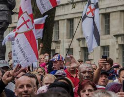 2014 - Anti-EDL/Stand Up To Racism Protest. by LouHartphotography