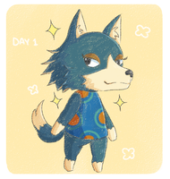 Animal Crossing Drawing Challenge: Day 1 by Oshimizy