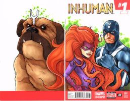 Inhumans by DKHindelang