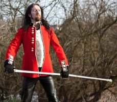 Red Coat stock 6 by Random-Acts-Stock