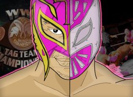 WWE Duality - Tag Teams - Rey and Sin Cara by OptimumBuster