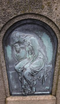 grave stone by little-one-girl