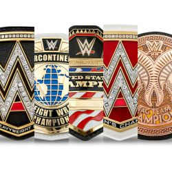 WWE CHAMPIONSHIP BELTS by imranbecks