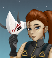 RWBY: Ilia Amitola by brown-nii