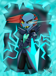 [UNDERTALE] Undyne The Undying by Seb-LK-585
