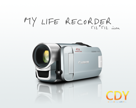 My Life Recorder by CDYdesign