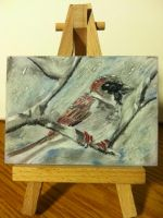 Snowbird ACEO by youvegotmaille