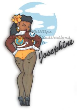 Josephine pinup prints... by KPhillips702