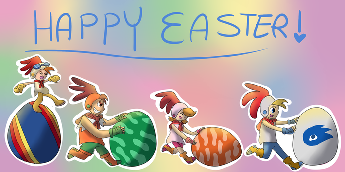 Billy Hatcher | Happy Easter! by Minish-Mae