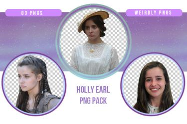 Holly Earl PNG Pack by Weirdly-PNGS
