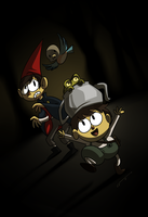Over the Garden Wall by LuchoVolke