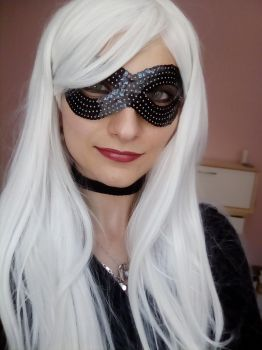 Black Cat (Spiderman) make up by MartyCos-Art