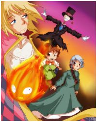 Howl's Moving Castle by ync
