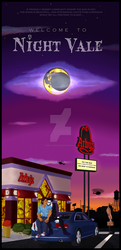 W is for Welcome To Night Vale by Nerdy-Musings