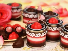 Chocolate n Strawberry Candy/Mousse Collections by theresahelmer