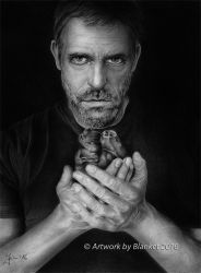 Hugh Laurie As HOUSE MD by blanket86