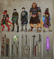 Priam's Party (Noritherian RPG) by Spirogs